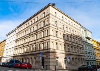 Špaletová okna Praha Kamenická