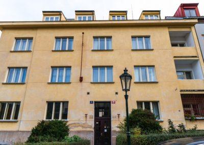Špaletová okna v BD – Praha 1, Hellichova