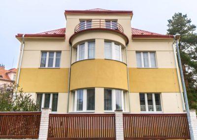 Špaletová a dřevěná okna v RD – Praha 6, Krocínovská