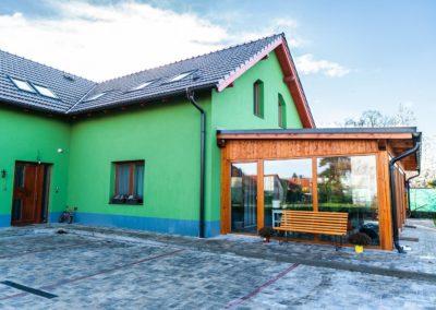 Dřevěná okna v RD – Uhlířské Janovice