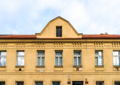 Špaletová a dřevěná okna v BD – Praha 10, Pod Altánem