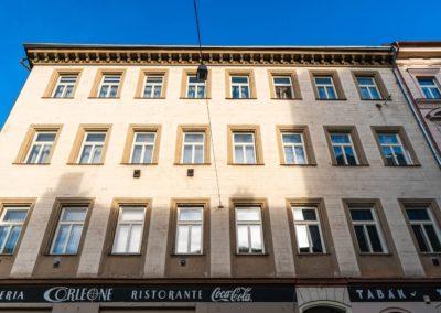 Špaletová a dřevěná okna v BD – Praha 5, Na Bělidle