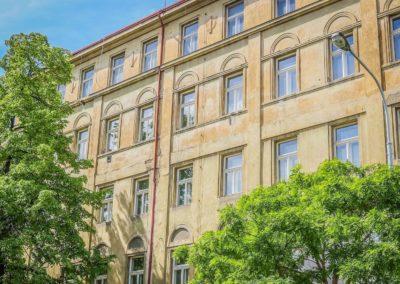 Špaletová okna v BD – Praha 8, Vítkova