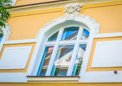 Špaletová okna v BD – Praha 3, Kubelíkova